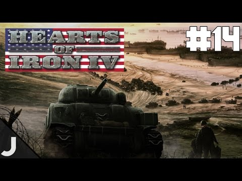 Hearts of Iron 4 USA - Part 14 - World Domination! FINAL