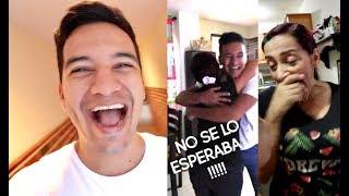 LLEGO POR SORPRESA A MI CASA EN COLOMBIA   Juanes Velez