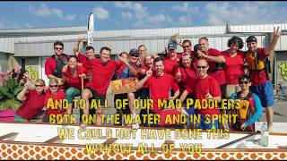 Mad Paddlers 2017 Quebec Cup 500m and 200m races at Parc Jean Drapeau in Montreal, Quebec
