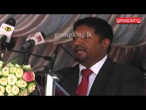 State Minister of Defence Ruwan Wijewardene [www.gossipking.lk]