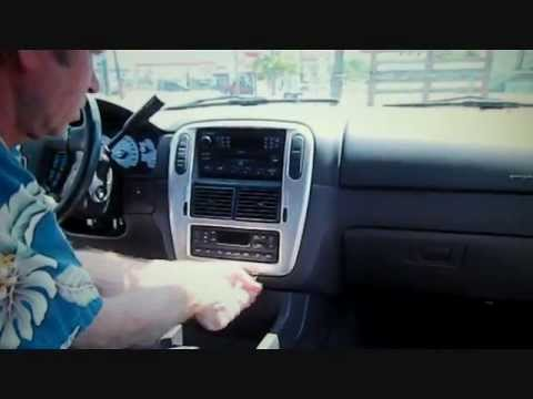 Mercury Mountaineer Stereo Removal 2002-2005