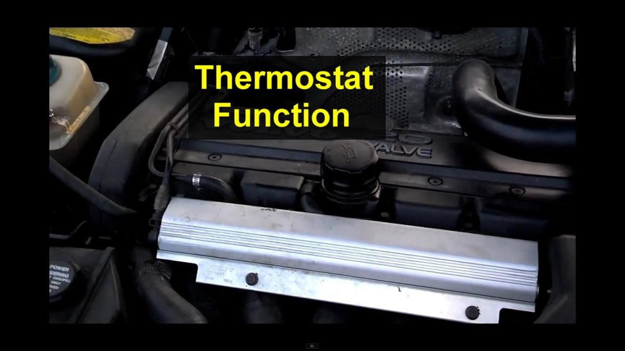 How Does The Thermostat Work Auto Care Series Youtube