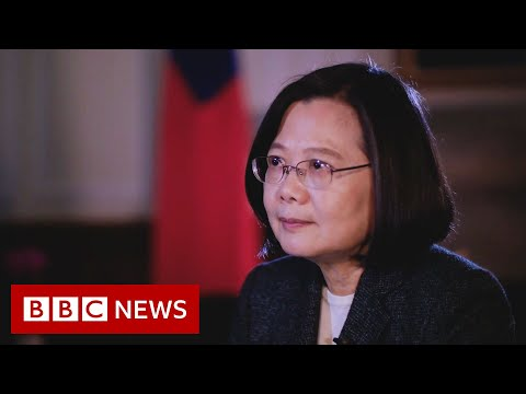 Taiwan Tensions: In Conversation With President Tsai Ing-wen - BBC News