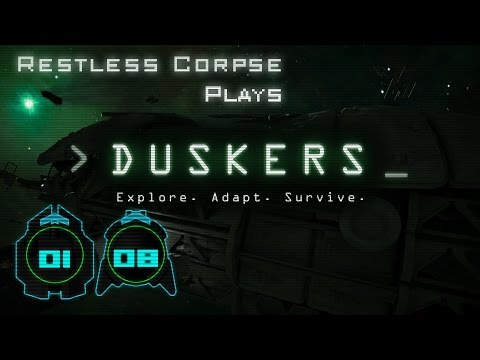 Let's Play DUSKERS - Series 1 Part 8 - CRASHING DOWN!