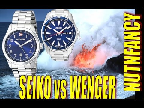 Battle of the Desk Divers: Seiko vs Wenger
