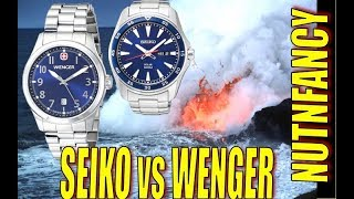 Battle of the Desk Divers: Seiko vs Wenger