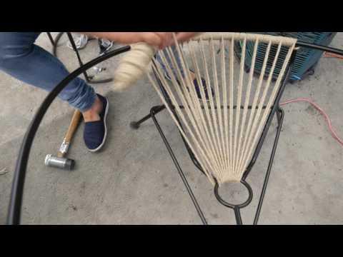 Fair Furniture Acapulco hemp chair weaving