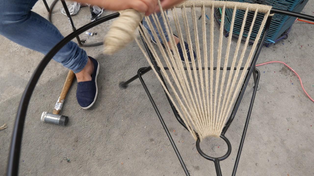 Exceptionnel Fair Furniture Acapulco Hemp Chair Weaving