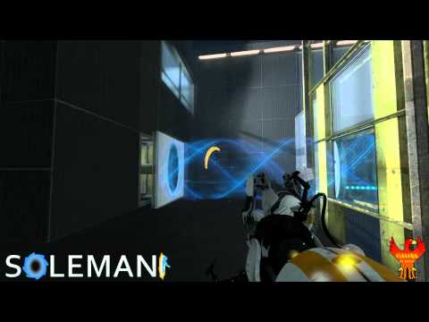 Let's Play Portal 2 Co-Op: Part 6 - Fun with Anti-Gravity