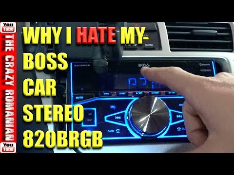 3 Good REASON You Should NOT Buy A BOSS 820 BRGB Car Stereo From Amazon