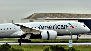 SMOOTHEST 787 LANDING EVER!? American Airlines Boeing 787-8 at Los Angeles Airport (LAX)
