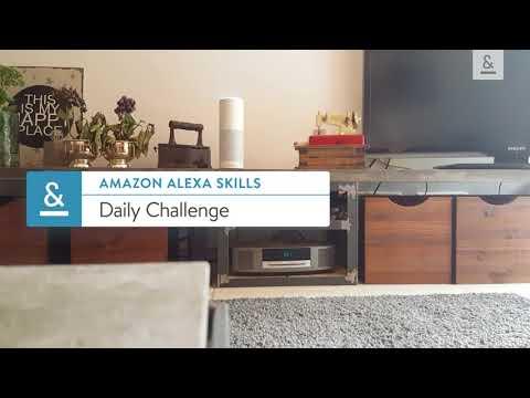 Amazon Alexa Skills - Daily Challenge