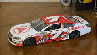 nascar dave blaney diecast review raceday2011 parody