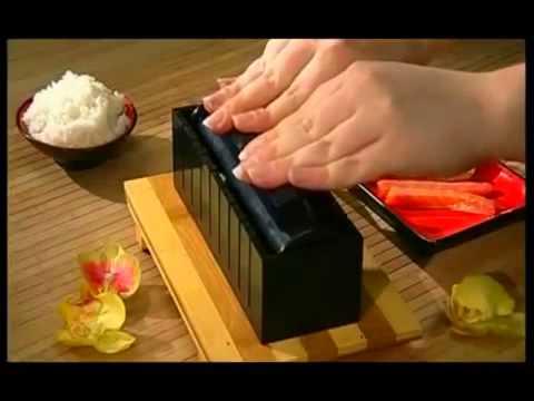 Набор для суши Мидори - YouTube