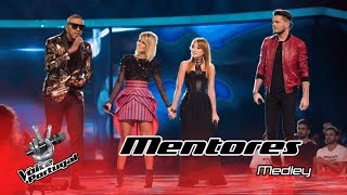 Marisa Liz, Anselmo Ralph, Aurea e Mickael Carreira cantam medley | Gala | The Voice Portugal