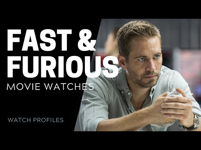 Watches in Fast And Furious Movies | SwissWatchExpo