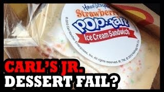 Pop Tart Ice Cream Sandwiches from Carl
