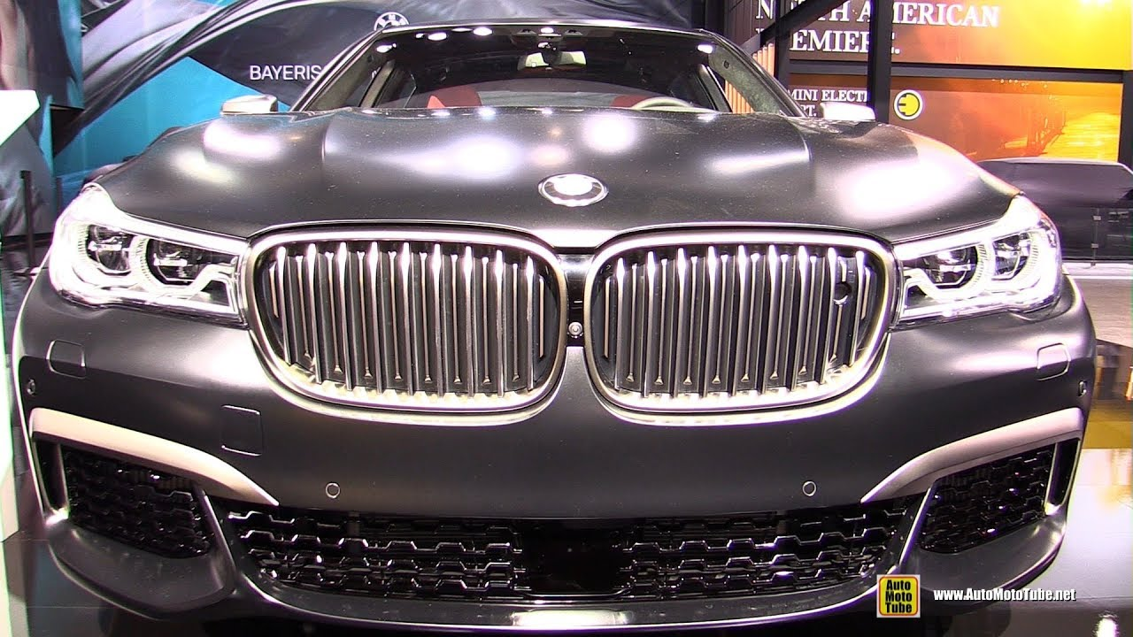 2018 bmw m760i xdrive exterior and interior walkaround. Black Bedroom Furniture Sets. Home Design Ideas