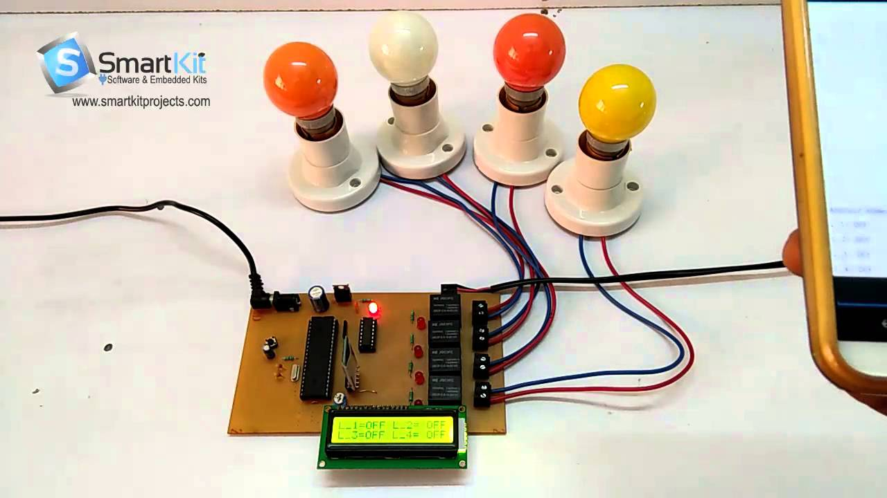 Android Home Automation System using PIC Microcontroller