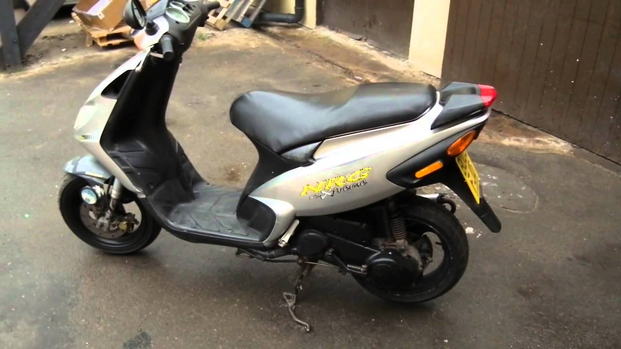 piaggio nrg 50 scooter - youtube