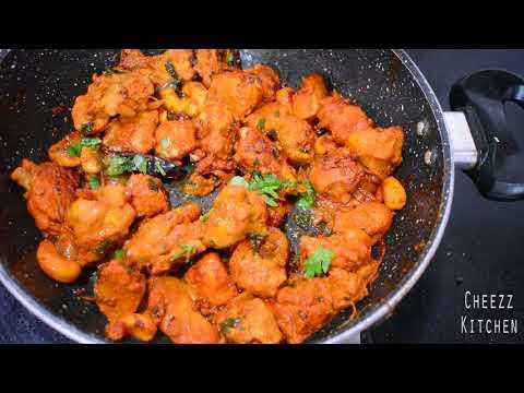 Spicy Chicken Ghee Roast | Chicken Dry Side Dish thumbnail