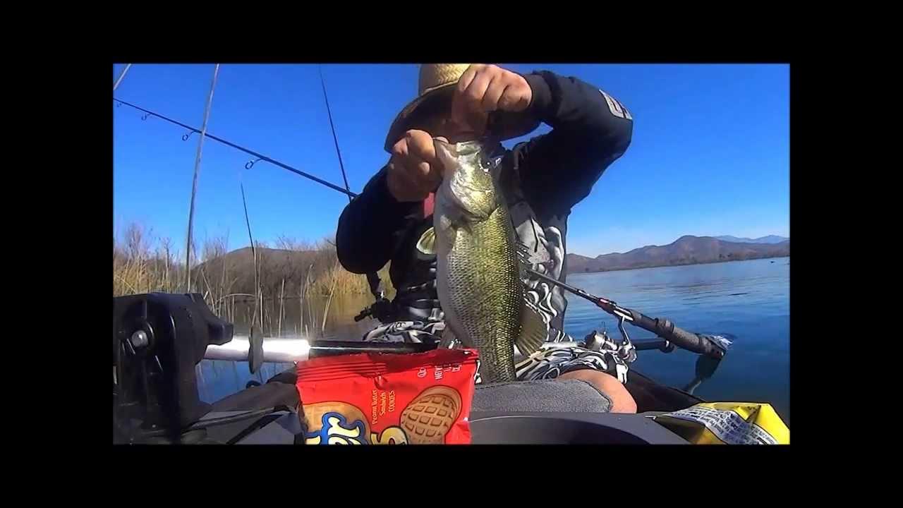 Lake skinner kayak fishing 2 14 youtube for Lake skinner fishing report