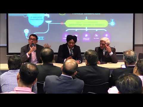 Panel on Digital Disruption   International Business Conclave 2017