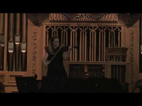 """Ysaÿe Sonata No. 3 """"Ballade"""" - Rosalie Macmillan"""