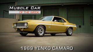Muscle Car Of The Week Video Episode #165:   Olympic Gold 1969 Yenko Camaro 427