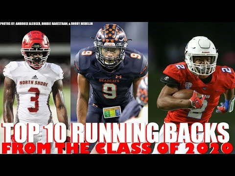Top 10 Running Backs From Class Of 2020