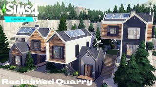 Reclaimed Quarry |Eco Lifestyle | NOCC |The SIms 4| Stop Motion