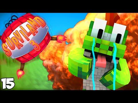 ME TROLLEAN POR PRIMERA VEZ | Surviland 3 Ep.15 Minecraft 1.9.4 Serie Troll
