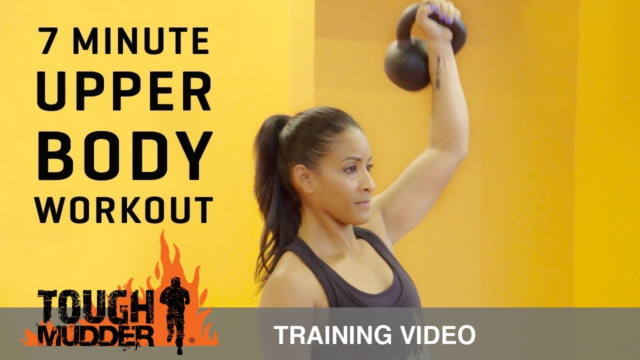7 minute workout upper body exercises for toned arms ep 7 tough mudder youtube. Black Bedroom Furniture Sets. Home Design Ideas