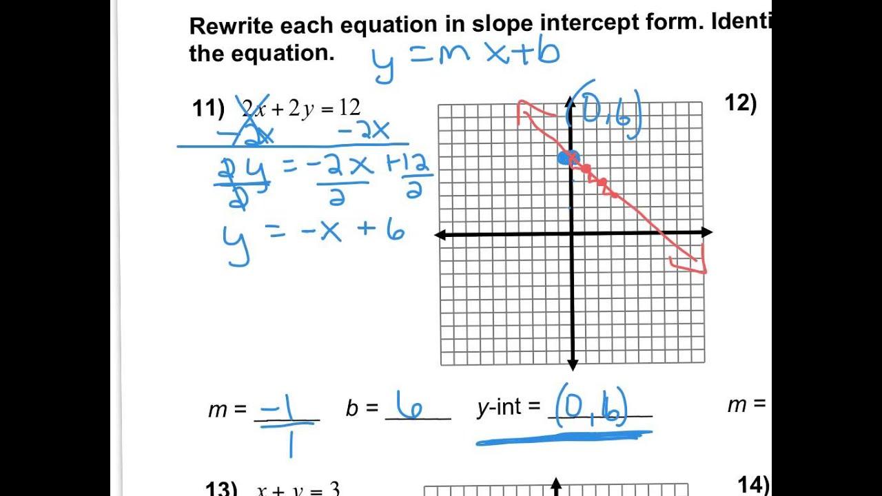 4 2a Worksheet Homework Answers