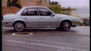 """1982 Oldsmobile Firenza """"What a small car can be"""" TV Commercial"""