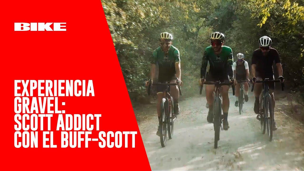 MUNDO GRAVEL: Nos vamos con el BUFF-Scott a probar la Scott Addict Gravel