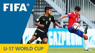 Video Gol Pertandingan Meksiko U-17 vs Chile U-17