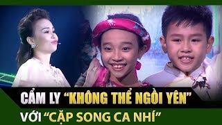Tuyệt đỉnh song ca nhí | Cẩm Ly, Thu Trang 'không thể ngồi yên' với 'Bống bống bang bang'
