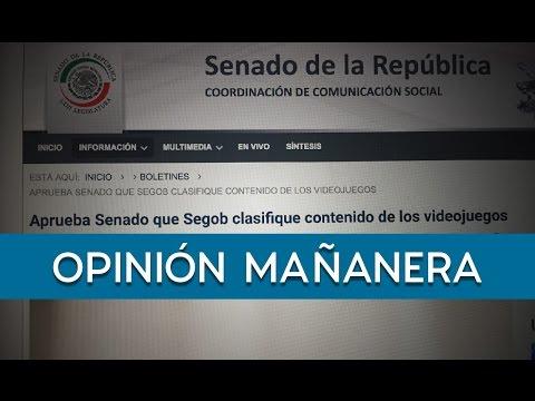 El Senado de México aprobó que se cree clasificación de videojuegos - 28/04/2017
