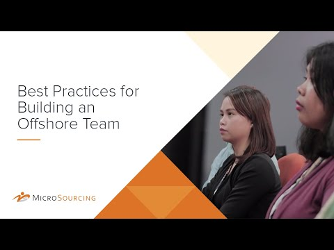 Best Practices for Building an Offshore Team