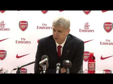 Arsene Wenger Post Match Hull Press Conference 04/12/2013