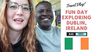 Exploring Dublin Ireland (Black And Ginger)