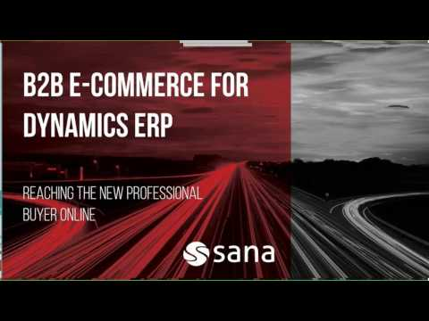 B2B E-Commerce for Dynamics ERP: Reaching the New Professional Buyer Online