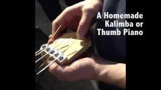 Thumb Piano Workshop - Saskatchewan Science Centre