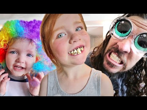 FAMiLY COSTUME SHOW!!  Niko & Adley do a pretend Download makeover! kids spin to choose our random day! |  Mp3 Download