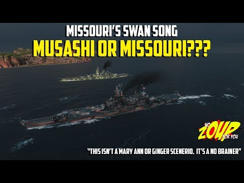 Missouri or Musashi - Which do you Spend your Free XP on - World of Warships