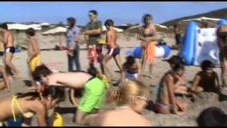 Colonia Marina Sant'Antioco - Festa Finale - Sculture di Sabbia