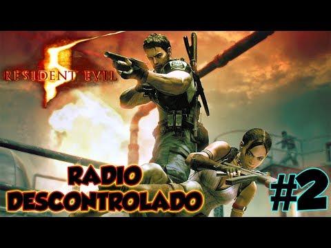 RESIDENT EVIL 5 COOP 2018 #2 - RÁDIO DESCONTROLADO! / 1080p PT-BR