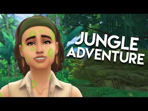 FIREFLY ATTACK // The Sims 4: Jungle Adventure #2