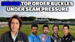 Indian top order buckles under Seam pressure   World Cup Warm up Match